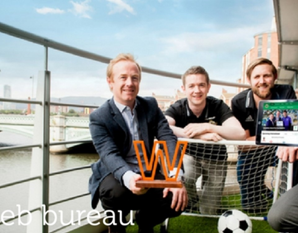 Web Bureau win Realex Web Award for 'Best Sports Website 2016'
