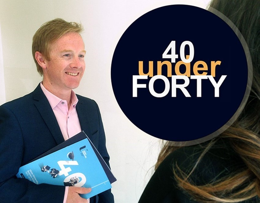 Paul Haslam has made NI's Rising Stars Top 40 Under 40!