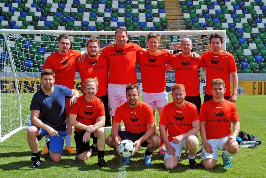 Web Bureau Finish 5th in the Irish FA Business League!