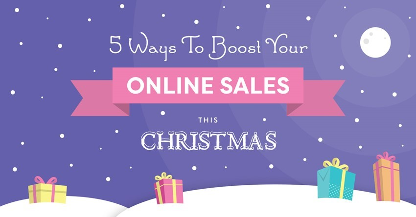 5 ways to boost your online sales this christmas - Christmas Eve Sales