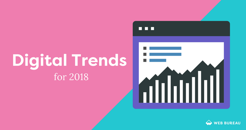 digital trends for 2018